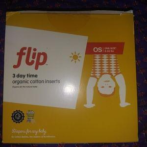 NIB 3 daytime organic inserts Flip bumgenius